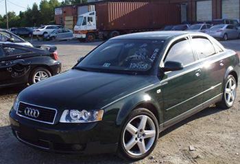 Audi: быстрый ремонт порогов