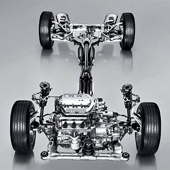 Acura: ремонтируем ходовую часть