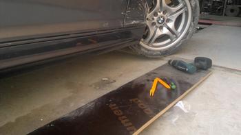 Ремонт порогов BMW