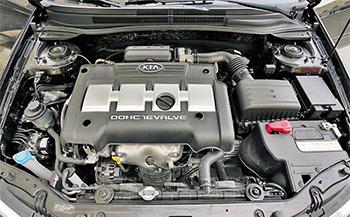 Ремонт двигателя Kia
