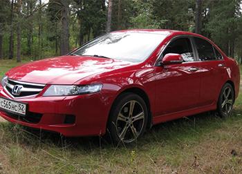 Ремонт бамперов Honda