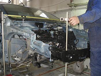 Mitsubishi: нюансы кузовного ремонта
