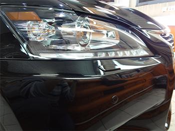 Полировка кузова Lexus