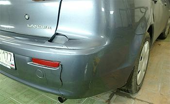 Ремонт бамперов Mitsubishi