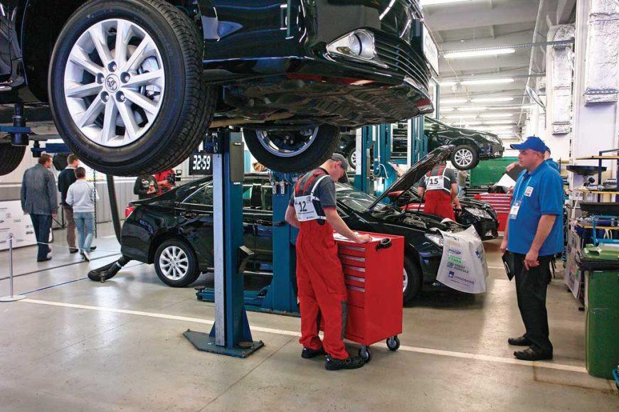 Цена на ремонт Toyota