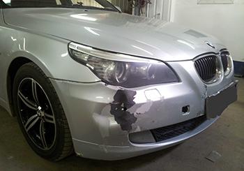Ремонтируем бампера BMW