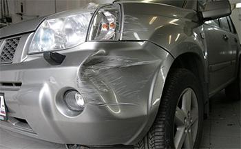Ремонт бампера Nissan
