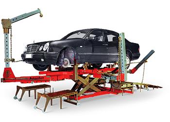 Стапельные работы Mercedes-Benz