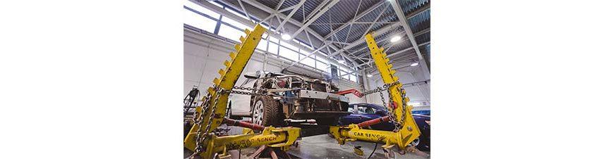 BMW: особенности стапельных работ