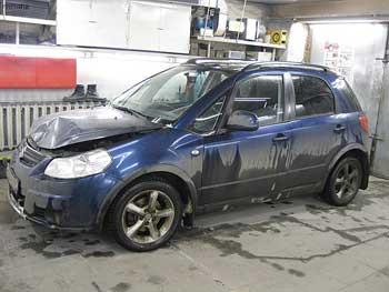 Кузовной ремонт Suzuki