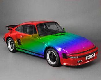 Покраска Porsche