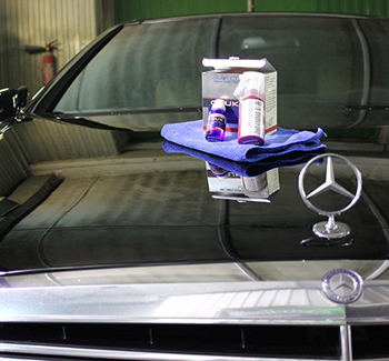 Полировка кузова Mercedes-Benz