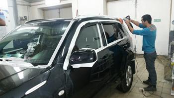 Полировка кузова Suzuki