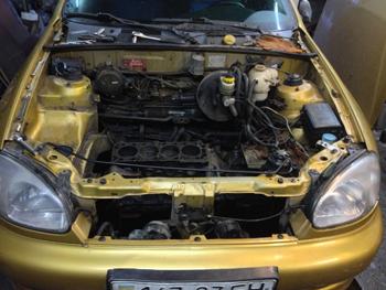 Ремонт двигателя Daewoo