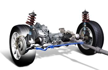 Ремонт ходовой части Lexus