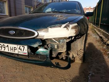 Восстановление бамперов  Ford