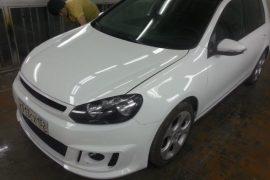 Восстановление VW Golf 6GTI после ДТП