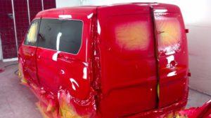 Покраска Форд Транзит