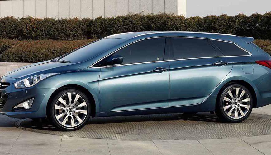 Семейно-спортивный Hyundai i40 покорил сердца россиян