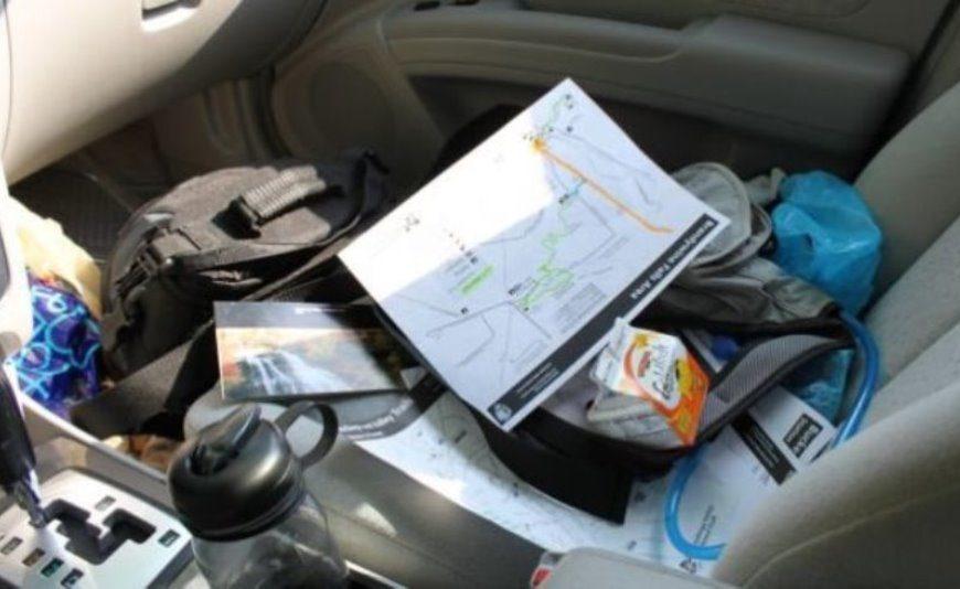 Порядок в автомобиле и безопасность