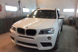 Кузовной ремонт BMW X3: Восстановление после ДТП