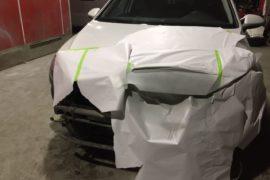 Volkswagen Golf 7: Покраска капота, ремонт бамперов