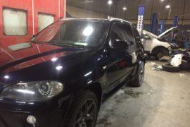 Покраска дверей BMW X5 (E70)