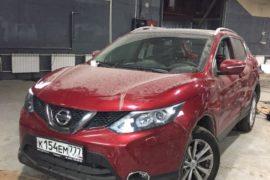 Nissan Qashqai: Восстановление после ДТП